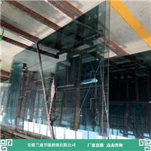 双层钢化玻璃直销加工设备进口齐全 楼房钢化玻璃 兰迪供应幕墙玻璃