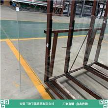 淋浴房钢化玻璃 坚固耐用质量好 6mm中空玻璃 兰迪供应幕墙玻璃