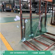 12+12中空玻璃直销加工设备进口齐全 楼房钢化玻璃 兰迪供应幕墙玻璃