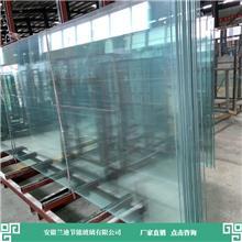 双层钢化玻璃批发 加工设备进口齐全 合肥钢化玻璃 兰迪供应幕墙玻璃