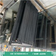 镀膜中空玻璃接大型订单 快速生产发货 合肥隔音中空玻璃 兰迪供应幕墙玻璃