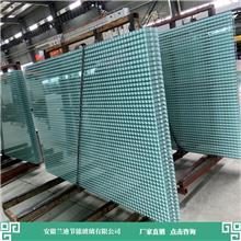 幕墙用双层钢化玻璃 加工设备进口齐全 镀膜中空玻璃 兰迪供应幕墙玻璃