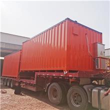 河北野营方舱供应水污染处理设备方舱 储能电池集装箱 设备风电箱 设备预制舱房屋 车载式一体