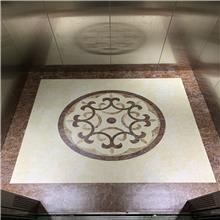 定制LOGO电梯地板 电梯图案地板 免费设计