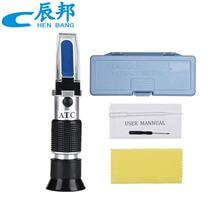 手持式折光仪0-90%糖度计测试仪浓度计ATC果冻胶浓度检测仪盐度仪