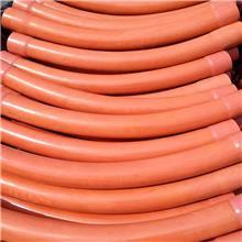 河北厂家订做PVC电力弧形大弯头 风力发电管 双边扩口