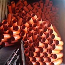 厂家定制风力发电弯头电力管桥梁通风排水90°月牙弯头弧形大弯头