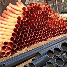 电力风力发电弯头厂家定做 规格齐全 PVC弧形大弯头 风力发电管道