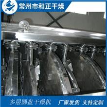 运用于硫磺的盘式干燥机 石膏粉圆盘烘干机 碳酸钙之盘式干燥器 非标定制