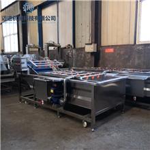 臭氧洗菜机  多功能果蔬清洗生产流水线 商用果蔬清洗机  迈进机械
