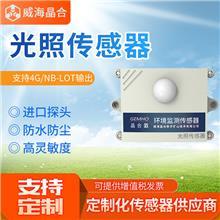 晶合光照度变送器模块4GGPRS高精度光照强度传感器环境远程监测报警光照传感器