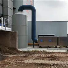 可定制 喷酸雾废气处理器 PP洗涤塔 PP废气喷淋塔 按时发货