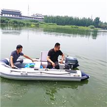 八马力带档位船外机 铁皮船橡皮艇木船用挂桨机 便携式汽油船用外挂机