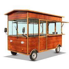 早餐车电动三轮流动奶茶冰粉关东煮铁板多功能小吃车摆摊设备推车