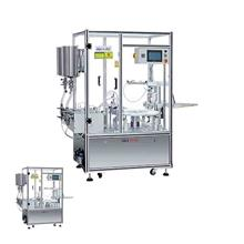 厂家直销双色灌装机械 粉底小体积灌装机 气垫BB霜灌装机器