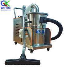 90L移动式工业吸尘器 大量铁屑焊渣吸尘器 陶瓷喷塑粉尘吸尘器