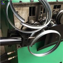 销售工艺品风罩打圈机 方向盘空心管卷圆机 童车轮圈卷圆机