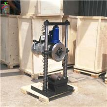 双立柱切管机  钢铁电动液压冷切割机 供暖系统管道切管机