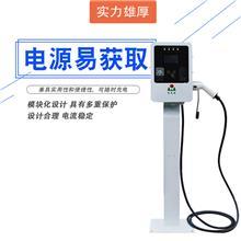 新能源电动汽车交流充电桩7kw立柱式即插即充刷卡充电电子锁