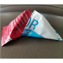 护肤品三角包包装机 全自动三角包液体包装机厂家 广州朋来