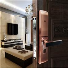 德斯保D368指纹锁厂家 用防盗门指纹密码锁电子门锁家用智能锁通用型