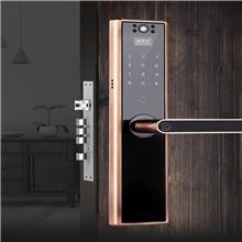 k9德斯保指纹锁厂家带监控摄像头 家用防盗门密码锁电子门锁全自动智能锁