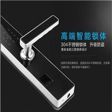 D158德国工匠智能锁厂家家用防盗门智能感应刷卡电子密码锁遥控远程磁卡锁
