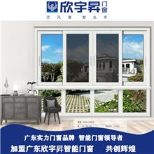 大气别墅智能门窗定制 断桥铝门窗招商代理 智能化控制