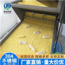 新款炸鲜奶卷裹面包糠机器 赫品鲜奶卷上糠机 威化纸鲜奶卷自动上面包糠机器