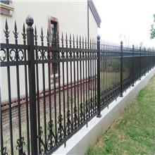 华龙供应锌钢护栏网 围墙护栏 铁艺护栏 其他规格可加工定做