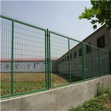 公路边框护栏网 浸塑框架铁丝网 绿色河道围栏防护网 昊坤 厂家