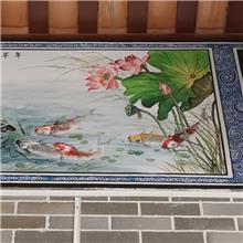 湛江市徐闻县祠堂神龛彩绘,祠堂墙绘画,祠堂墙绘,祠堂手绘图片