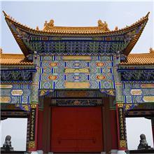 广州市增城市,祠堂神龛彩绘,祠堂墙绘画,祠堂墙绘,祠堂手绘图片