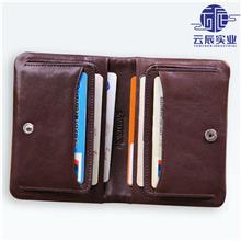 轻薄复古商务男士卡包名片夹 驾驶证皮套银行卡包 上海厂家直销