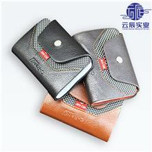 上海厂家定制PU短款商务男士卡包 超薄迷你卡片夹 多卡位银行卡包