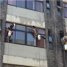 邯郸峰峰矿风电场塔筒清洗 塔筒防腐  外墙清洗报价施工 彩钢瓦喷漆 大楼清洗工程
