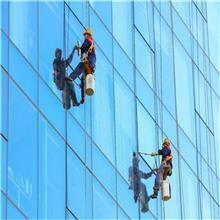 菏泽牡丹玻璃幕墙清洗 外墙保洁 玻璃幕墙保洁 大楼清洗 铝塑板翻新 彩钢瓦喷漆