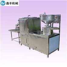 菏泽小型豆腐机械设备 鑫丰豆腐机石膏豆腐制作 在家做的小加工