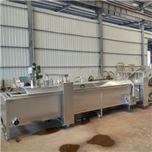 毛豆蒸煮生产线 放心机械水产品蒸煮生产线 小龙虾蒸煮设备