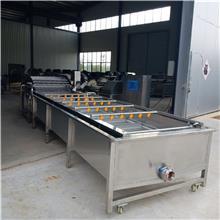 洗鱼机 辽宁海产品自动称重分级机 放心机械水产品蒸煮设备