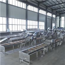 新式洗鱼机 辽宁香辣小鱼仔加工成套设备 放心机械水产品蒸煮设备