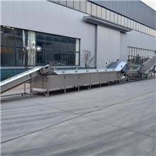 果蔬漂烫机  北京连续式蒸煮机 水产品蒸煮生产线 蒸煮机