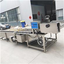 新式洗鱼机 辽宁麻辣小鱼仔加工机器 放心机械水产品蒸煮设备