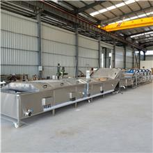 毛豆蒸煮生产线 放心机械水产品蒸煮生产线 香菇蒸煮机