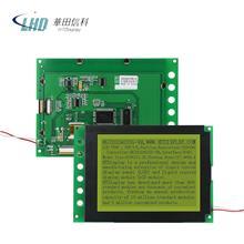 HG32024033G-VA 液晶显示屏 黄底绿字点阵屏 液晶屏模组