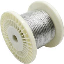 现货供应 304不锈钢钢丝绳厂家 多股晾衣吊灯绳 升降起重绳