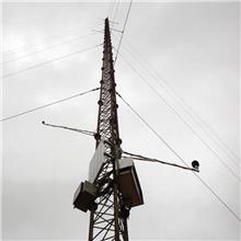 凯博 厂家供应 测风塔 拉线测风塔 羽翼风向塔