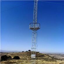 三角测风塔基地 80米测风塔 河北测风塔 测风塔价格