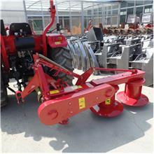 拖拉机后置多功能双圆盘割草机苜蓿打草机