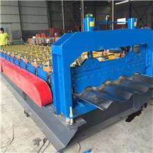 海腾冷弯设备 汽车挡泥板压瓦机 全自动冲孔打拱一条线 型号齐全